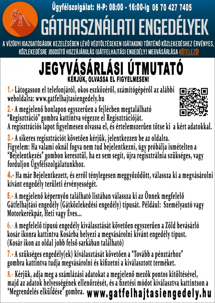 Gátközlekedési engedély - gatfelhajtasiengedely.hu